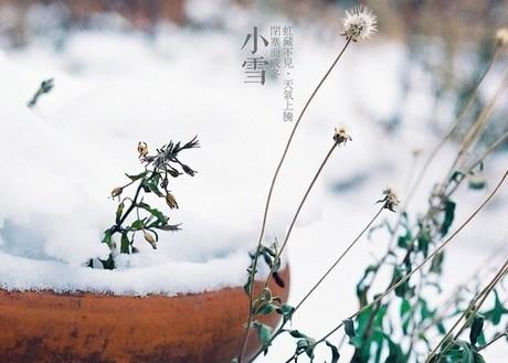 小雪节气传统习俗