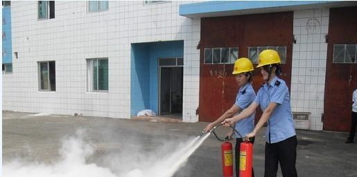 粤海高铁北港举行秋季消防演练活动