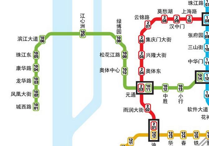 想知道 上海市地铁十号线站点在哪条路图片