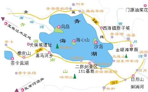 青岛湖旅游线路