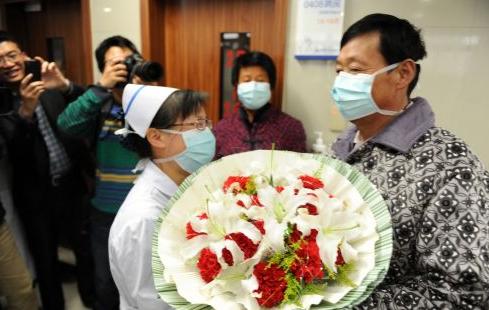 江西两例H7N9禽流感患者治愈出院