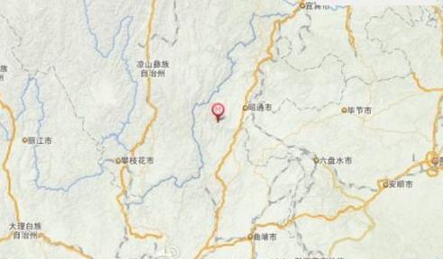 云南昭通鲁甸县地震图片