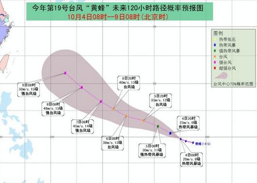 2014年19号台风路径图图片