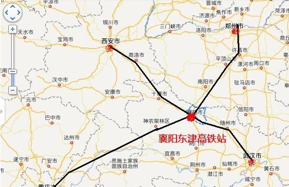 郑万高铁南阳规划图
