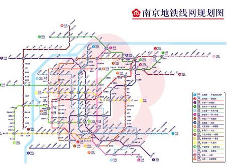 南京地铁2号线线路图图片