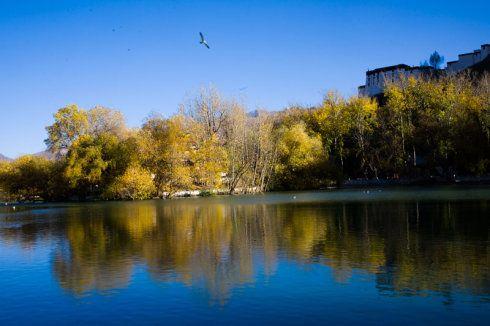 布达拉宫——倒映在水中的浪漫宫殿