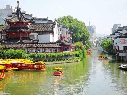 南京游记之彩色秦淮河