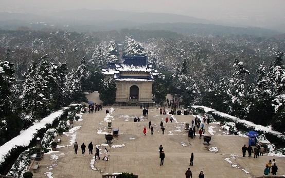 南京攻略与攻略v攻略攻略_春节旅游冬雪-春运破坏者秋叶千兆图片