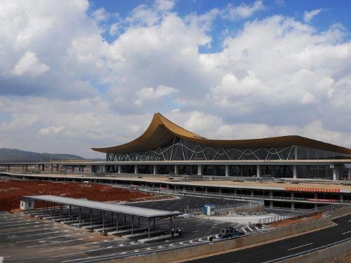 昆明巫家坝机场图片