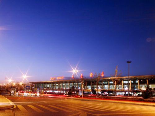 大连周水子机场图片