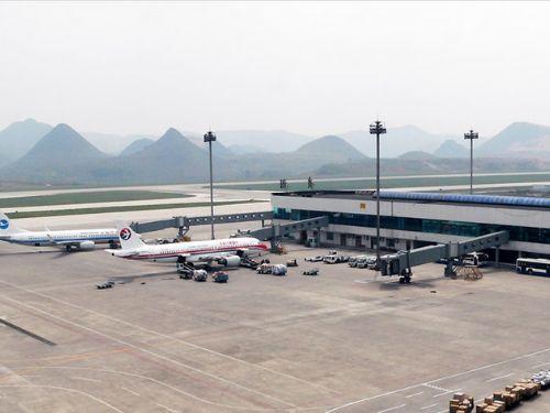贵阳龙洞堡机场图片