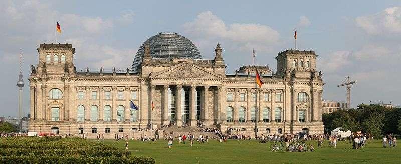 是位于德国首都柏林中心区的一座建筑图片