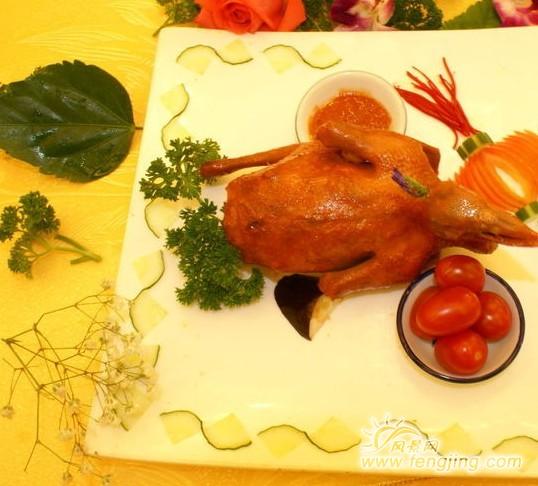 辽宁义乌风味美食锦州名品高家烧鸽子_v风味美美食街西门锦州图片