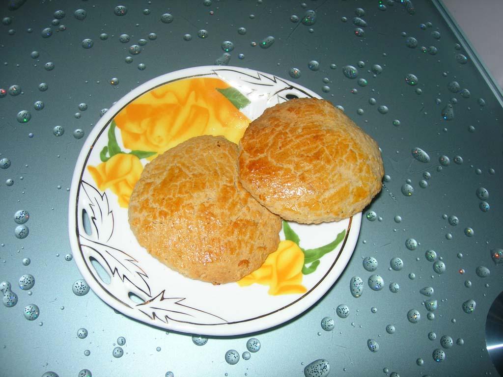 哈萨克的烤饼