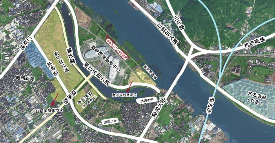 冠城大通4.3亿拿下会展中心游艇俱乐部地块