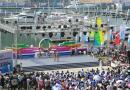 """国际游艇博览会海南开幕 逾百艘豪华游艇""""斗艳""""清水湾"""