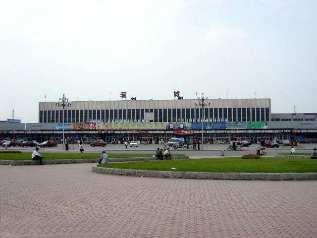 海城火车站1