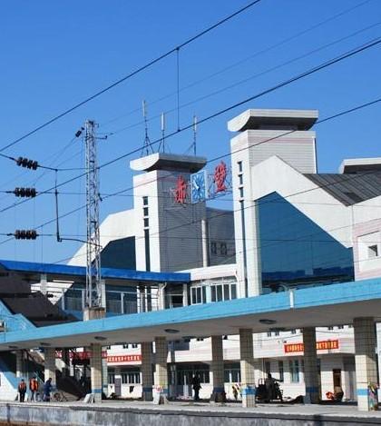 赤壁火车站1