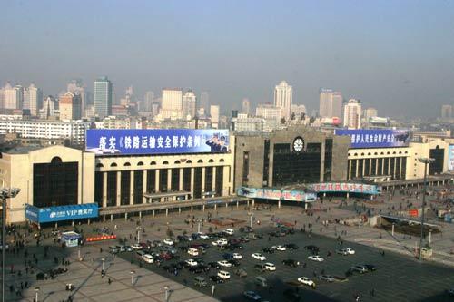 哈尔滨火车站1