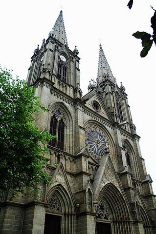 广州石室圣心大教堂景点图片 广州石室圣心大教堂旅游景点...