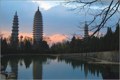 崇圣三塔寺景点图片|大理崇圣三塔寺旅游景点照片