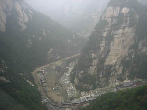 西安华山景点图片 西安华山旅游景点照片 西安华山精美图片
