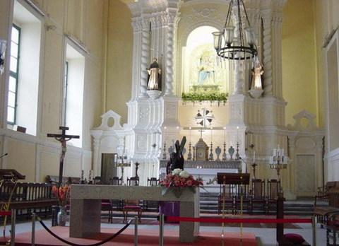澳门玫瑰圣母堂景点图片 澳门玫瑰圣母堂旅游景点照片 澳...