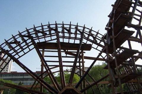 兰州水车园景点图片 兰州水车园旅游景点照片 兰州水车园3...