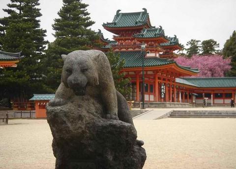 日本平安神宫景点图片 日本平安神宫旅游景点照片 日本平...