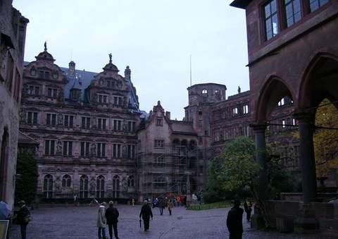 德国海德堡景点图片 德国海德堡旅游景点照片 德国海德堡5...