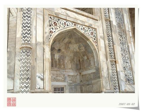 印度泰姬陵景点图片 印度泰姬陵旅游景点照片 印度泰姬陵7...