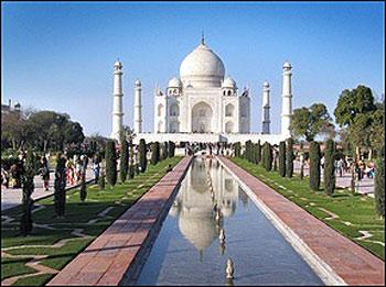 印度泰姬陵景点图片 印度泰姬陵旅游景点照片 印度泰姬陵4...