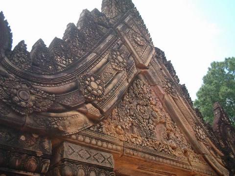 柬埔寨女王宫景点图片 柬埔寨女王宫旅游景点照片 柬埔寨...
