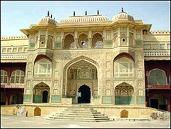 印度琥珀堡景点图片 印度琥珀堡旅游景点照片 印度琥珀堡...