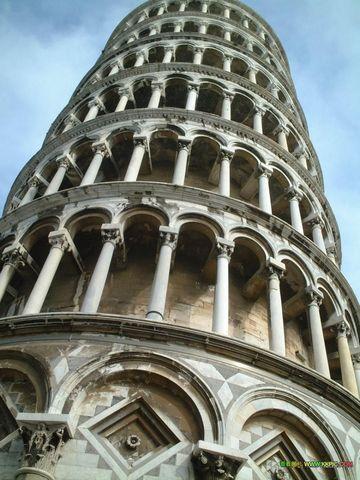 意大利比萨斜塔景点图片 意大利比萨斜塔旅游景点照片 意...