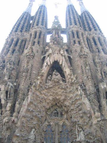 西班牙巴塞罗那大教堂景点图片 西班牙巴塞罗那大教堂旅游...