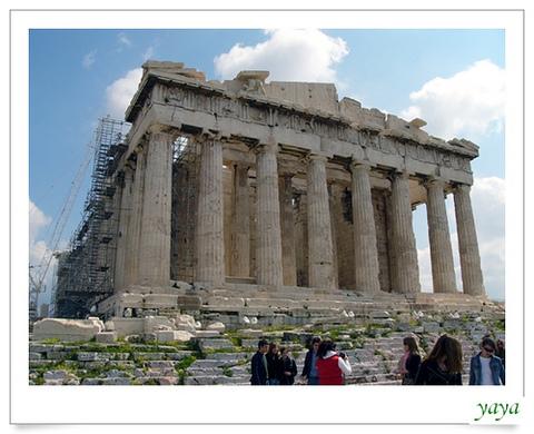 希腊雅典卫城景点图片 希腊雅典卫城旅游景点照片 希腊雅...