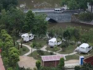 从化的房车露营又添新去处广州省首家校园房车营地