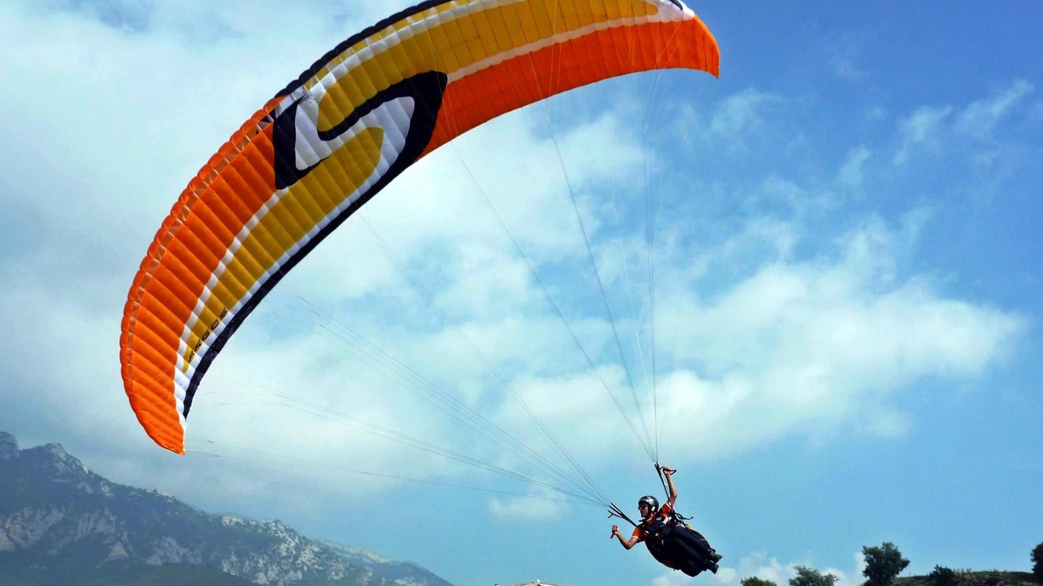 杭州永安山滑翔伞露营基地