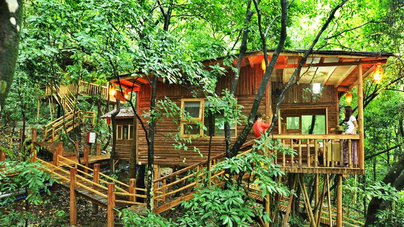 九州驿站与自然和谐相处