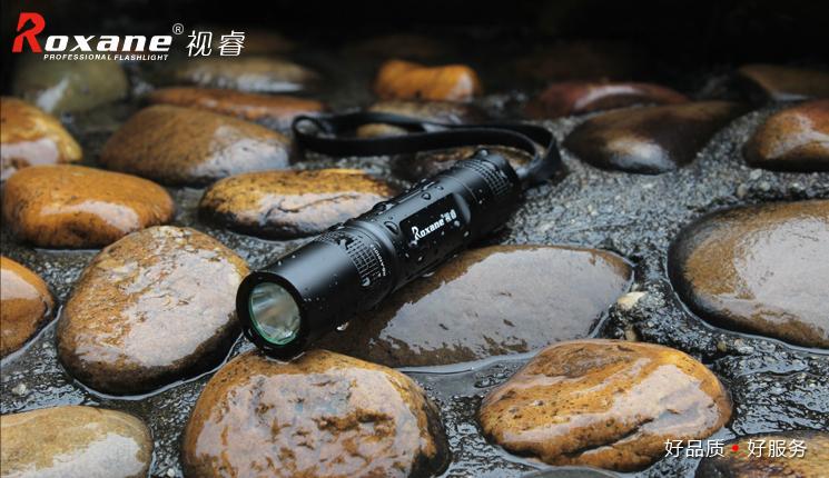 正品视睿A10迷你强光小手电筒可充电LED远射防水家用骑行户外防身经济实用轻便小巧户外出行首选