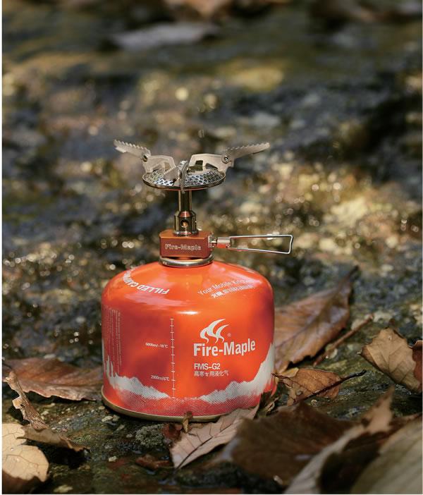 超值火枫正品116户外野营野餐便携一体气炉/轻量级/炉头灶头小巧可以放口袋透明塑料盒收纳